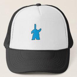 ManRay Films Custom Trucker hat w/ clayman design