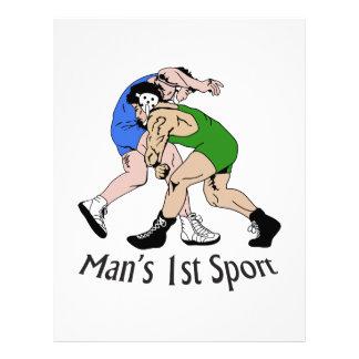 MANS 1ST SPORT LETTERHEAD