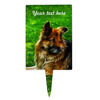 Man's Best Friend #1 Cake Toppers