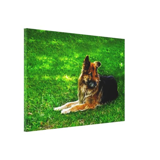Man's Best Friend #1 Canvas Print