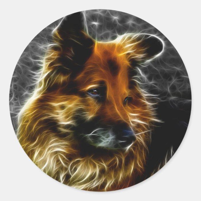 Man's Best Friend #3 Classic Round Sticker
