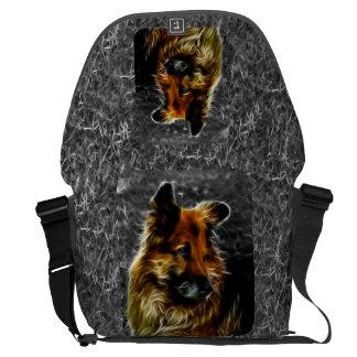 Man's Best Friend #3 Messenger Bag