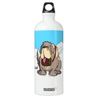 Man's Best Friend Aluminum Water Bottle