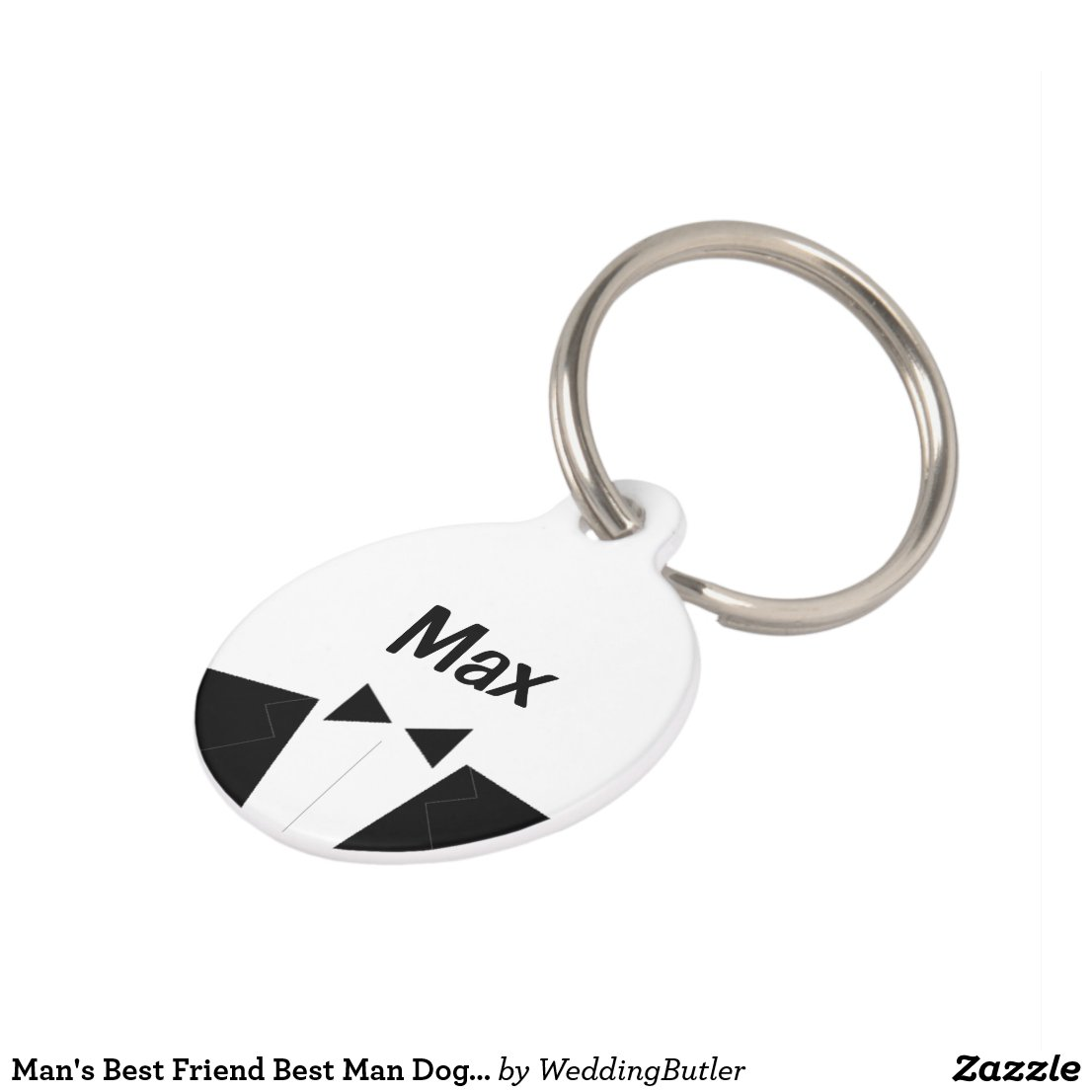Man's Best Friend Best Man Dog Tag