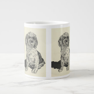 Mans Best Friend  Cocker Spaniel Giant Coffee Mug