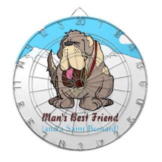 Man's Best Friend Dartboard With Darts