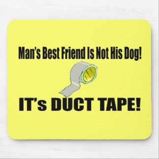 Mans Best Friend Funny T-shirts Gifts Mouse Pad