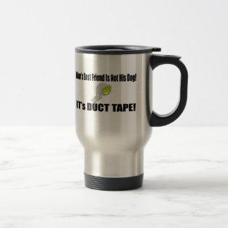 Mans Best Friend Funny T-shirts Gifts Travel Mug
