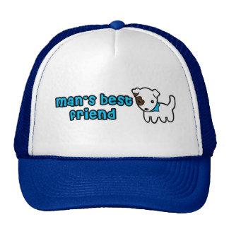 Man's best friend hat