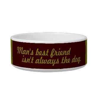 Man's Best Friend Isn't Always the Dog Cat Bowl