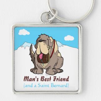 Man's Best Friend Keychain