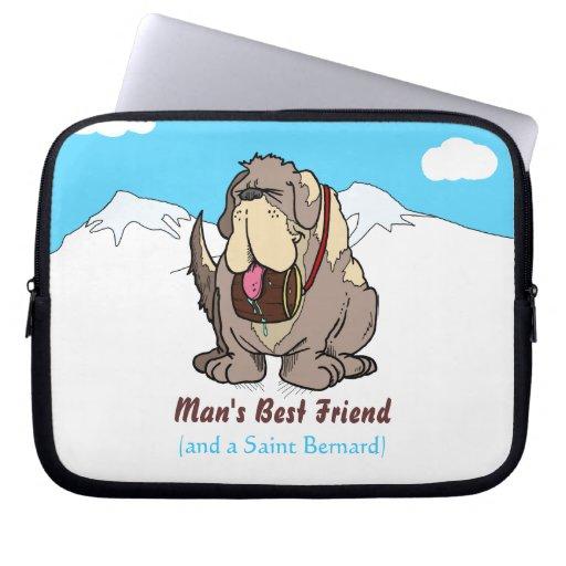 Man's Best Friend Laptop Sleeves