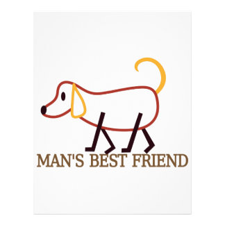 Man's Best Friend Letterhead