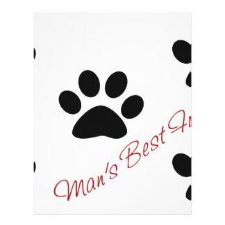 Man's best friend letterhead
