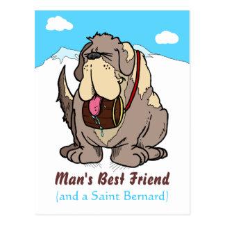 Man's Best Friend Postcard