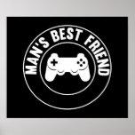 Man's Best Friend Print