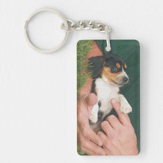 Man's Best Friend Puppy Keychain