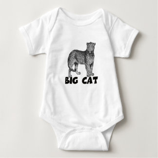 Mans Big Cat  T-shirts