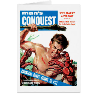 Man's Conquest - Cannibal Crabs Card