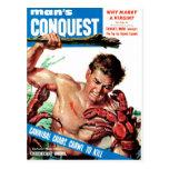 Man's Conquest - Cannibal Crabs Postcard