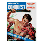 Man's Conquest - Cannibal Crabs Poster