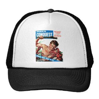 Man's Conquest - Cannibal Crabs Trucker Hat