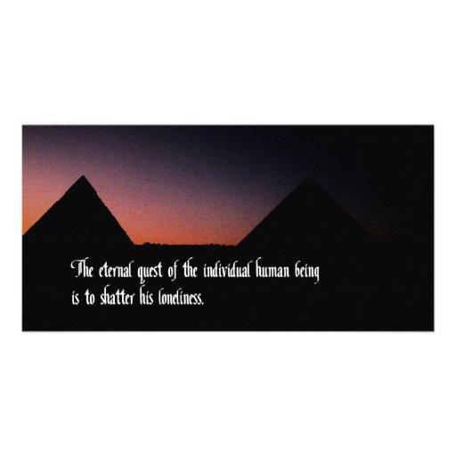 Man's Eternal Quest Photo Cards