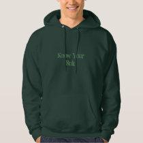 Man's Friendly Reminder Sweatshirt