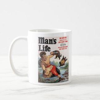 Man's Life Turtle Cover Mug