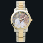 "Mans PHOTO Watch 25th 50th Husband ANY Anniversary<br><div class=""desc"">Elegant silver 25th wedding anniversary gift for parent, friend, family, spouse or colleague. You can edit the templates using the customize or personalize tab. ____________________________________________________________________________ 1. For assistance, custom design or matching items (view the collection attached) contact Designer LeahG via the contact tab below. ____________________________________________________________________________ 2. For updates on the...</div>"