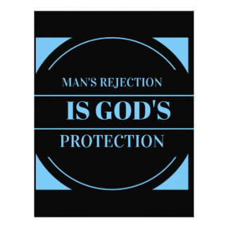 man's rejection is God's protection Letterhead