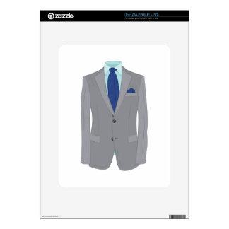 Mans Suit iPad Skins