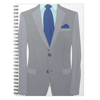 Mans Suit Notebook