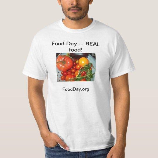 Man's T-Shirt/Food Day T-Shirt