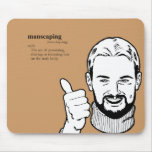 MANSCAPING MOUSE PAD