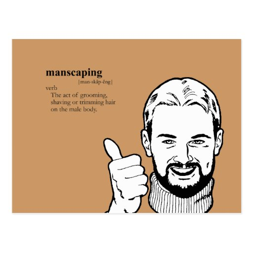 MANSCAPING POSTAL