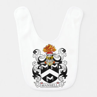 Mansell Coat of Arms III Bib