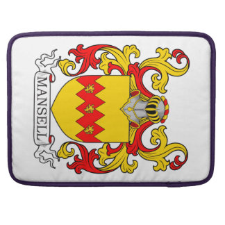 Mansell Coat of Arms IV Sleeves For MacBook Pro