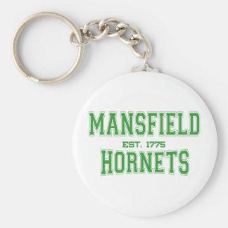 Mansfield High School Hornets Keychain