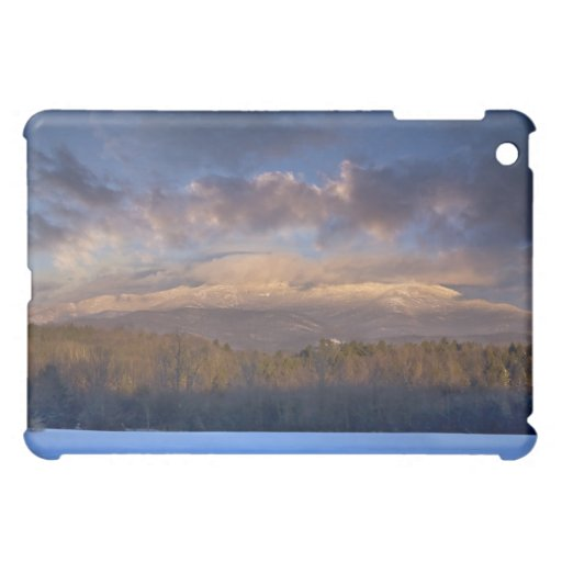 Mansfield Moutain Winter Sunset Cover For The iPad Mini