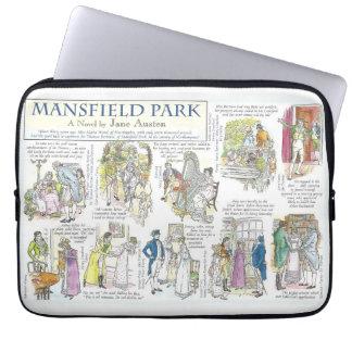 Mansfield park laptop sleeves