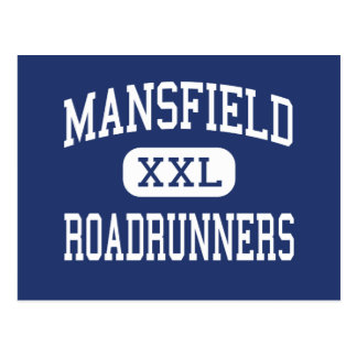 Mansfield Roadrunners Middle Storrs Postcard