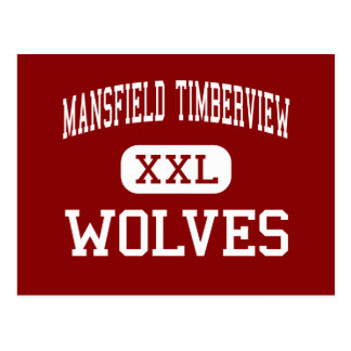 Mansfield Timberview - Wolves - High - Mansfield Postcard