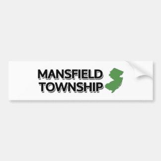 Mansfield Township, New Jersey Bumper Sticker