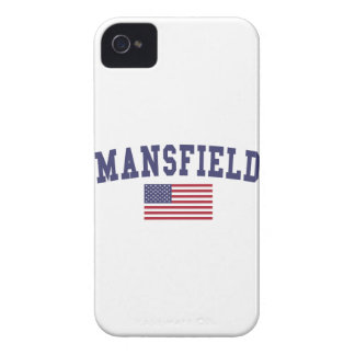 Mansfield TX US Flag Case-Mate iPhone 4 Case