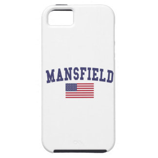 Mansfield TX US Flag iPhone SE/5/5s Case