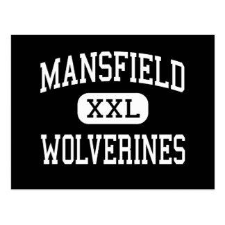 Mansfield - Wolverines - High - Mansfield Postcard