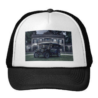 Mansion and Car Mesh Hats