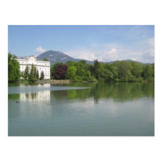 mansión de Salzburg-von Trapp Tarjetas Postales