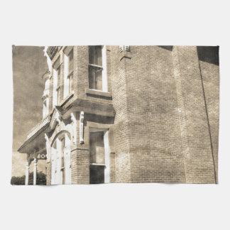 Mansión del vintage toallas de mano